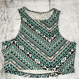 Crop top from Charlotte Russe